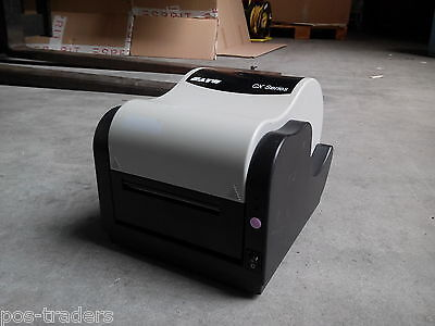 SATO CX400 EX4 Thermal Transfer Barcode Label Printer Parallel Serial INCL PSU