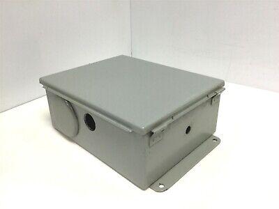 Hoffman A-1008lp Electrical Enclosure Junction Box Nema-12 10h X 8w X 4d