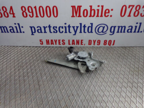 LEXUS IS 220D 2.2 DIESEL 6 SPEED MANUAL 2008 DRIVER SIDE REAR WINDOW REGULATOR