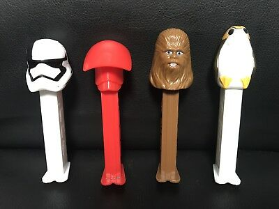 Star Wars™ EPISODE VIII The Last Jedi PEZ DISPENSERS Character Collection
