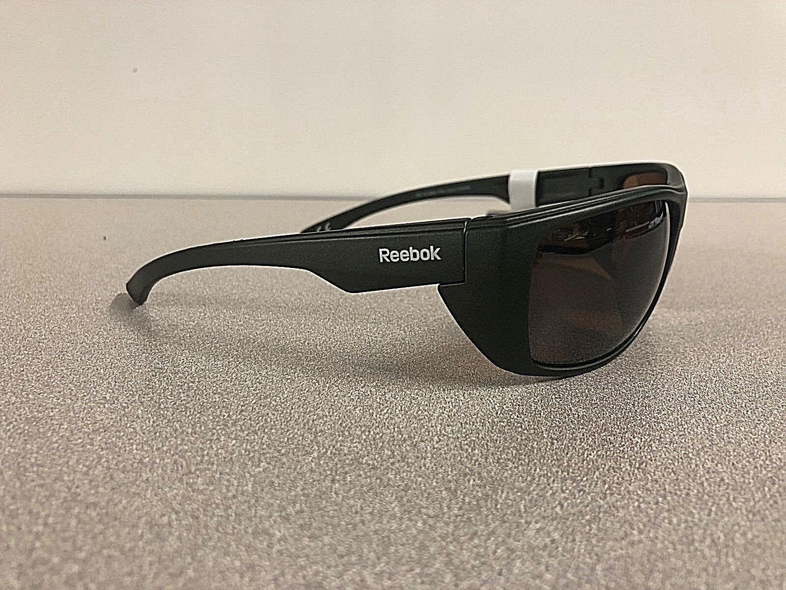 8c3f07cd328 ... New Reebok Mens  Cycling Golf Wrap Sport Polarized Lens Sunglasses  Green Frame фото ...