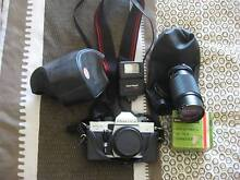 Praktica 35mm  SLR Camera with Accessories. East Hills Bankstown Area Preview