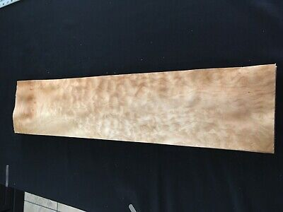 Quilted Curly Maple Burl Raw Wood Veneer Sheets 6 X 29 Inches 142nd Lot 87