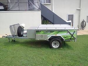 2013 Flare Hard Floor Offroad camper Trailer Gladstone Gladstone City Preview