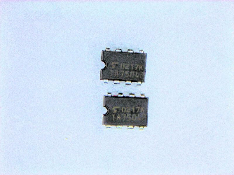 "TA7504P  ""Original"" Toshiba  8P DIP IC  2  pcs"