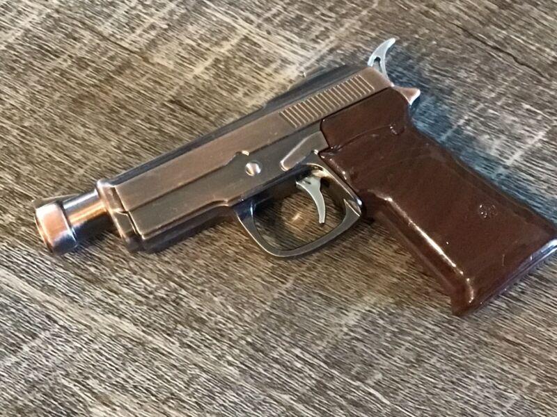 Vintage Pistol Cigarette Lighter Laser