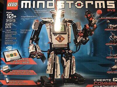 LEGO 31313 Mindstorms Programmable EV3 Kids Customizable Robot w/ Sensors Kit