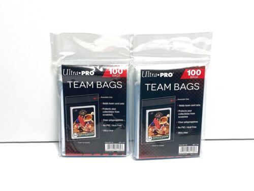 Ultra PRO Team Bags - Lot of 2 Packs of 100 (200 Total)