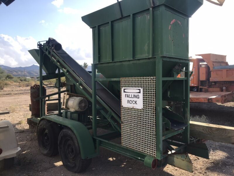 Gold Mining Ball Mill Plant,portable Complete Spread W Conveyors & Stackers NICE