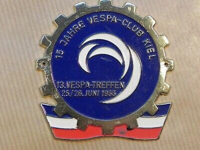 Vespa Badge Kiel 1966