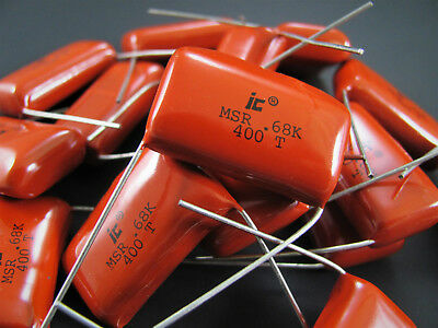 0.022uf To 1uf 400vdc - Polyester Metallized Film - Illinois Capacitor Nos