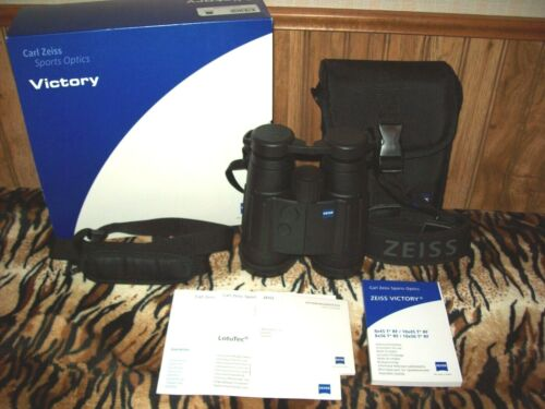 ZEISS VICTORY 8x45 T*RF~Rangefinding Binoculars~Box~Acc.~Paperwork~Near Perfect!