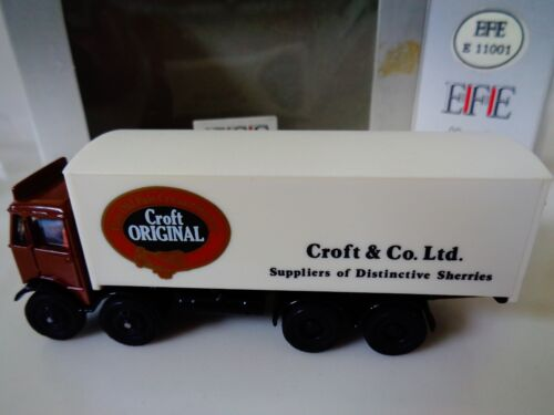 EFE -EXCLUSIVE FIRST EDITIONS - CROFT & CO BOX TRUCK 1:76 SUITABLE OO/HO -NOS