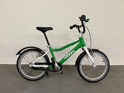 """Woom 3 Ultralight 16"""" children's bike designed for all-round use."""