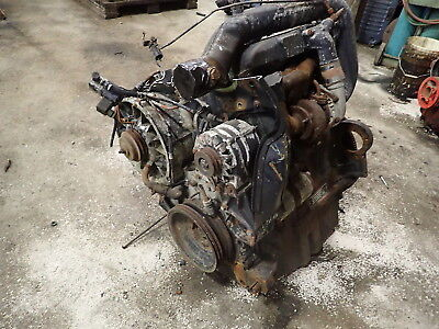 Deutz Bf4l913 Diesel Engine Turbo Runs Good Tractor Rare 913 Atlas
