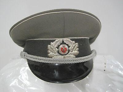 NVA Schirmmütze Gr.56 ähn.Wehrmacht Offizier Uniform-Artikel  sammeln DDR