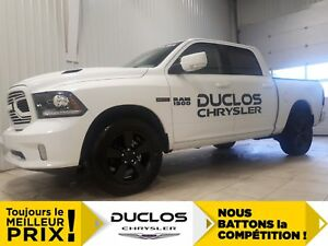 2018 Ram 1500 Sport *BANCS CHAUFF, CAMERA, BLUETOOTH*