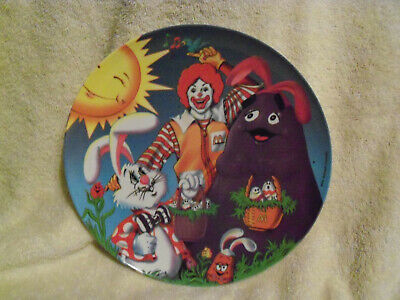 1996 Vintage McDonald's Easter/Spring Collector Plate - NEW