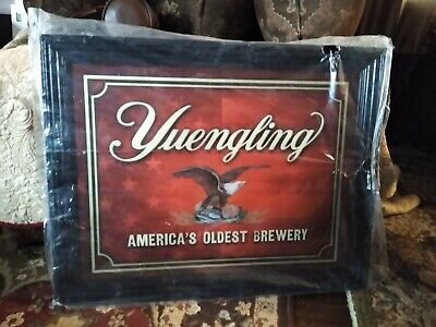 Yuengling America's Oldest Brewery Beer Mirror Bar/Pub Sign 27x21, Authentic
