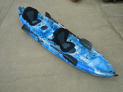 SIT ON TOP GALAXY TANDEM KAYAK NEW 2016 MODEL
