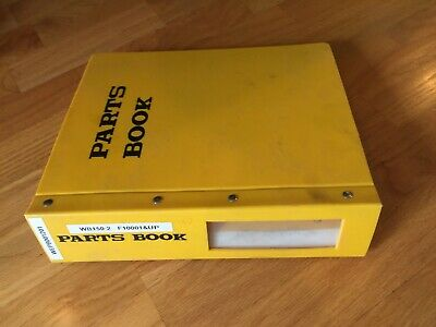 Komatsu Wb150 150 Backhoe Loader Dressta Parts Catalog Manual Book New