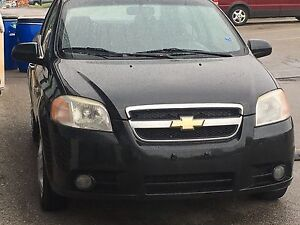 Chevrolet Aveo 2008 safety  and 1 year WARRANTEE .