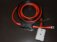 4m x 25mm² 170Amp Jump Start Extension Leads 2 x Red SB175 Anderson Connectors