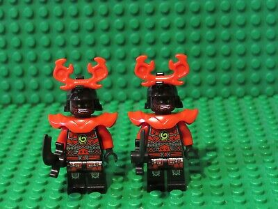 Lot of 2 Lego Ninjago Stone Army Warrior Demon 70503 70501 Lego Minifigures DW2