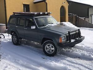 One tough and reliable 92 Jeep Cherokee