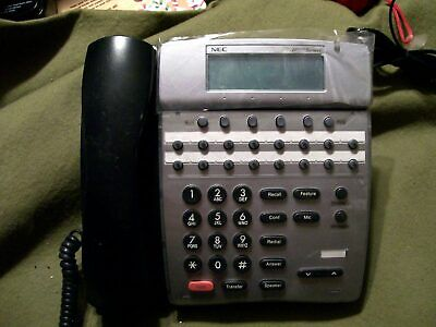 Office Phone Nec Dtr-16d-2bktel New Unused Out Of Box
