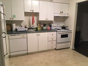 Furnished two bedroom available early December for sublet