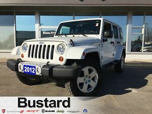 2012 Jeep Wrangler Unlimited Sahara | TWO TOPS | Bluetooth