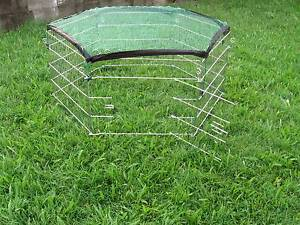 NEW BUDGET Metal Pet PET Enclosure - 6 panel-WITH COVER Kingston Logan Area Preview