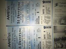 Ed Sheeran X 2 GA Tickets for Sunday 6 Dec @ AAMI PARK Glen Waverley Monash Area Preview