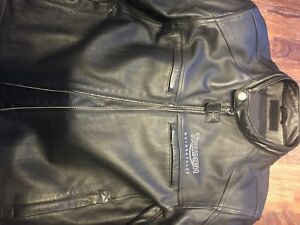 Triumph classic leather motorcycle jacket