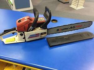 """Baumr AG Pro SX66 Chainsaw 18"""" Bar   Good working order Adamstown Newcastle Area Preview"""