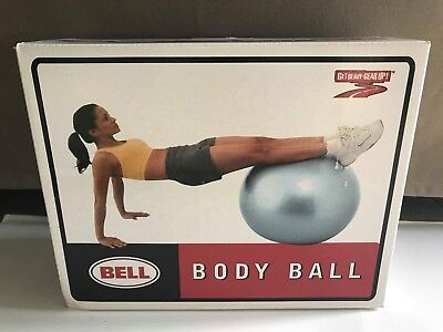 "Bell Body Ball Workout ( ball , manual and air pump ) 26"" abs glutes back arms l"