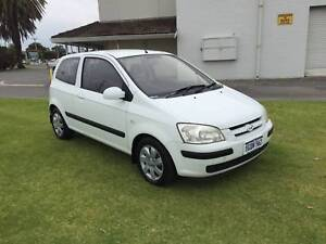 2004 Hyundai Getz Hatchback Automatic ***ONLY 137,000 KMS**** St James Victoria Park Area Preview