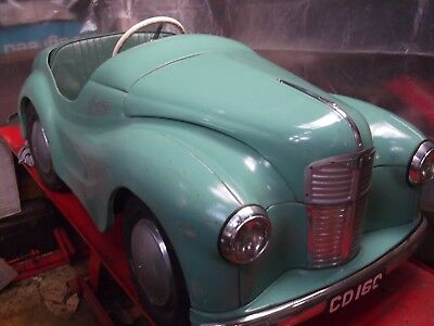 Austin J40 Pedal Car in good condition . Get ready for Goodwood Revival Race