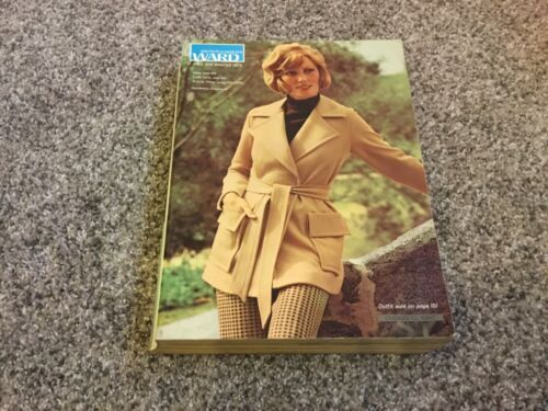 Vintage Montgomery Ward 1973 Fall and Winter Catalog