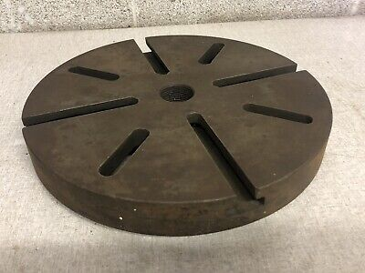 12 Inch Lathe Face Plate T-slotted