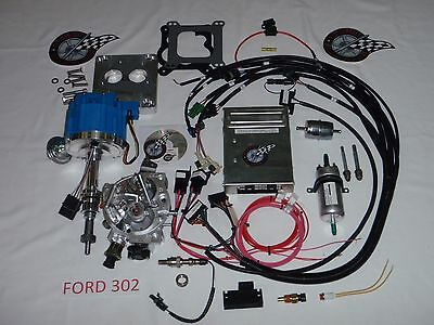 Ford Fuel Injection System Complete TBI-For Stock Small Block Ford 302 5.0L EFI