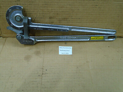 D401 Parker Hannifin No. 8-2829r 12 Tubing Bender 0-180 Degree Bend W Gain