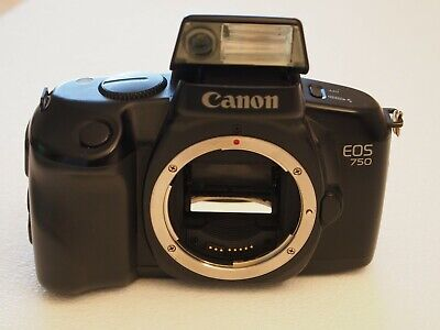 Canon EOS 750 film camera - best point and shoot with changeable lens ever (Best Canon Point And Shoot)