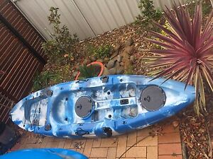 Fishing kayak with anchor Shell Cove Shellharbour Area Preview