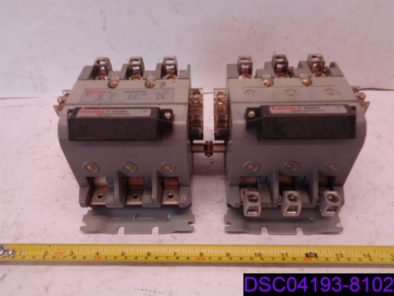 Furnas Reversing Magnetic Contactor 43HP32AA & Surge Suppressor 49D26344 Ser A