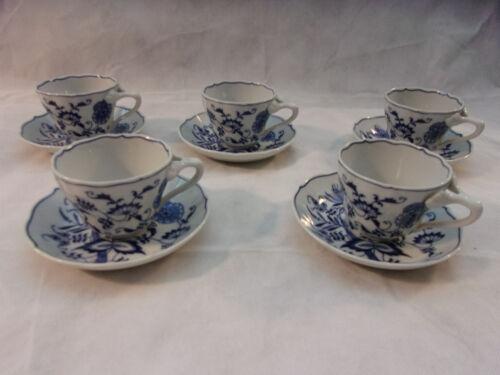 Blue Danube Coffee Cups & Saucers