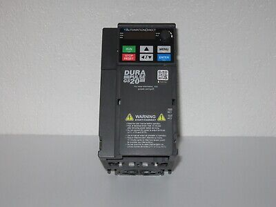 Durapulse Gs21-23p0 3hp 230vac 1-phase Vfd Frequency Drive Single Phase