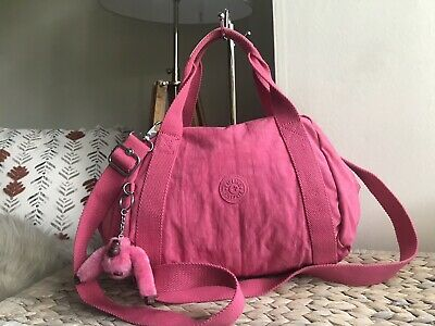 Kipling pink medium handbag shoulder cross body bag