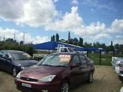 2004 Ford Focus Sedan SR 1.8 4CYL 5spd Manual Tidy Car Low kms Orange Area Preview